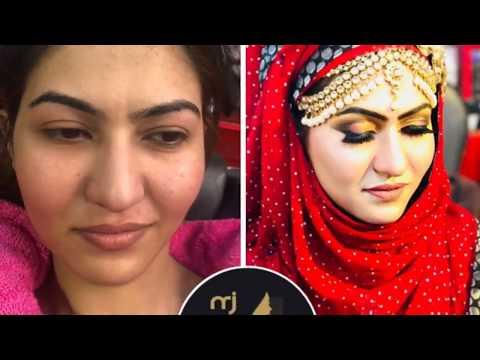 Arabic Bridal Makeup Tutorial of 2019   Paintstick Review