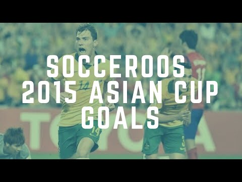 Socceroos 2015 Asian Cup Goals