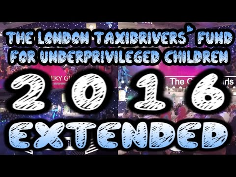 London Taxi Drivers Fund For Underprivileged Children 2016 (Ext.)