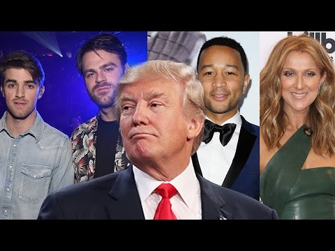 23 Artists Who REJECTED Trump's Inauguration Invite