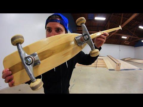 THE CANOE PADDLE SKATEBOARD | SKATE EVERYTHING EP 51