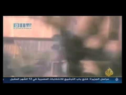 المحامي محمد عيسى يتحدث عن اعلام الثورة في تقرير أ  ياسر أبو هلالة على قناة الجزيرة