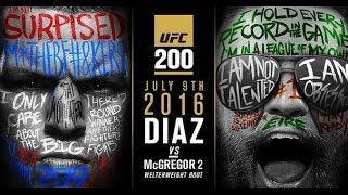 Конор МакГрегор и Нэйт Диаз 2 UFC 200 промо трейлер