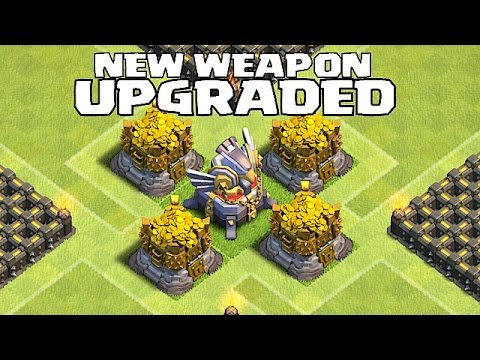 Clash Of Clans - BUYING EAGLE ARTILLERY!!! + GOLD AND ELIXIR STORAGES LVL 12!!!(GEM SPREE!!)