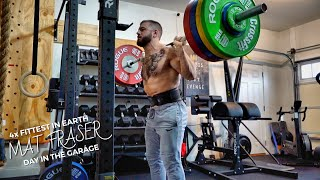 Garage Training with Mat Fraser: The Fittest Man On Earth