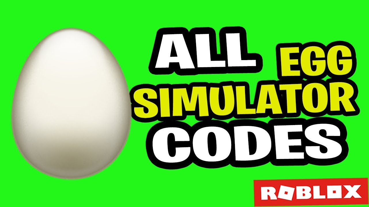 All Roblox Egg Simulator Codes 2019 July Youtube