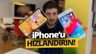 iPHONE'U HIZLANDIRIN! - iPhone RAM Temizleme nasıl yapılır?
