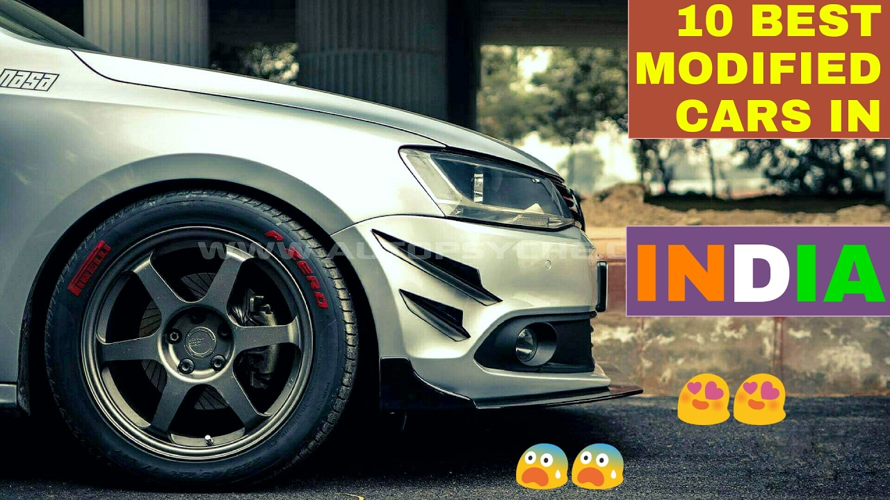 Top 10 best modified cars in india part 7