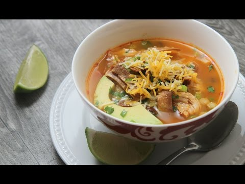 Spicy Chicken Tortilla Soup Cooked by Julie episode 343