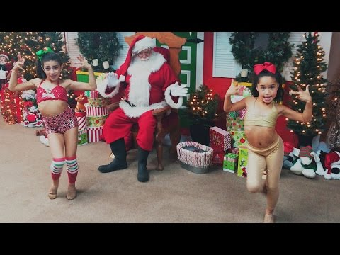 Raven Alanes & Aleena Aoun Party Rockin Around the Christmas Tree  DANCEmas 2015