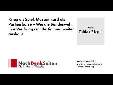 Krieg als Spiel, Massenmord als Partnerbörse – Wie die Bundeswehr ihre Werbung rechtfertigt