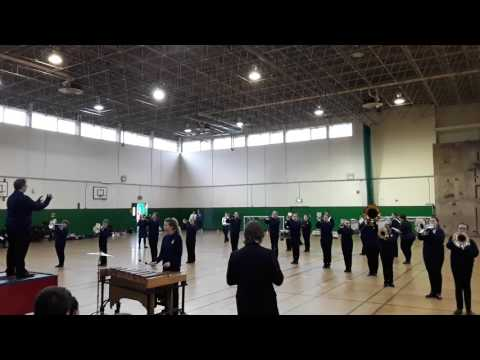 Stafford Brigades Youth Marching Band - District Band Competition May 2017