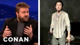 """EXCLUSIVE: """"The Walking Dead"""" Sneak Peek With Robert Kirkman - CONAN on TBS"""