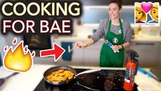 Download I Tried to Cook My Boyfriend His Fav Meal (I set it on fire) Mp3 and Videos