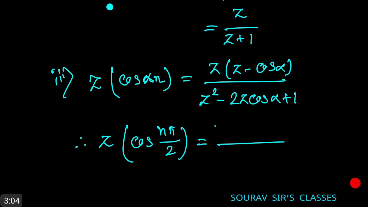 NUMERICAL ANALYSIS Z TRANSFORMS 1 ISI ,DSE ,JNU ,IGIDR ,CSIR NET ,NPTEL  ,MIT ,IIT JAM