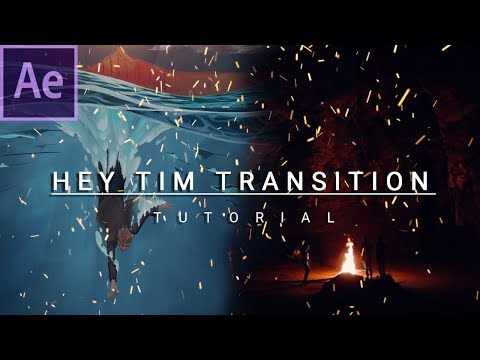How to TRANSITION like SAM KOLDER! | Hey Tim Tutorial | After Effects 2019