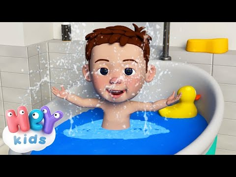 Wash Your Hands   The Bath Song For Kids + more nursery rhymes by HeyKids!