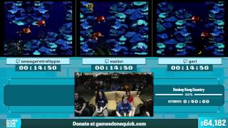 Donkey Kong Country by Various Runners in 34:36 - Summer Games Done Quick 2015 - Part 6