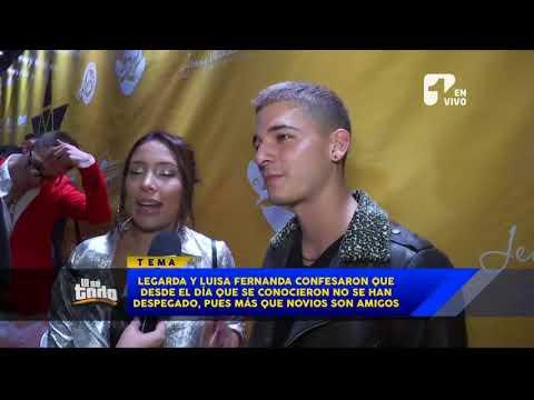 Luisa Fernanda W y Legarda están viviendo juntos en Medellín