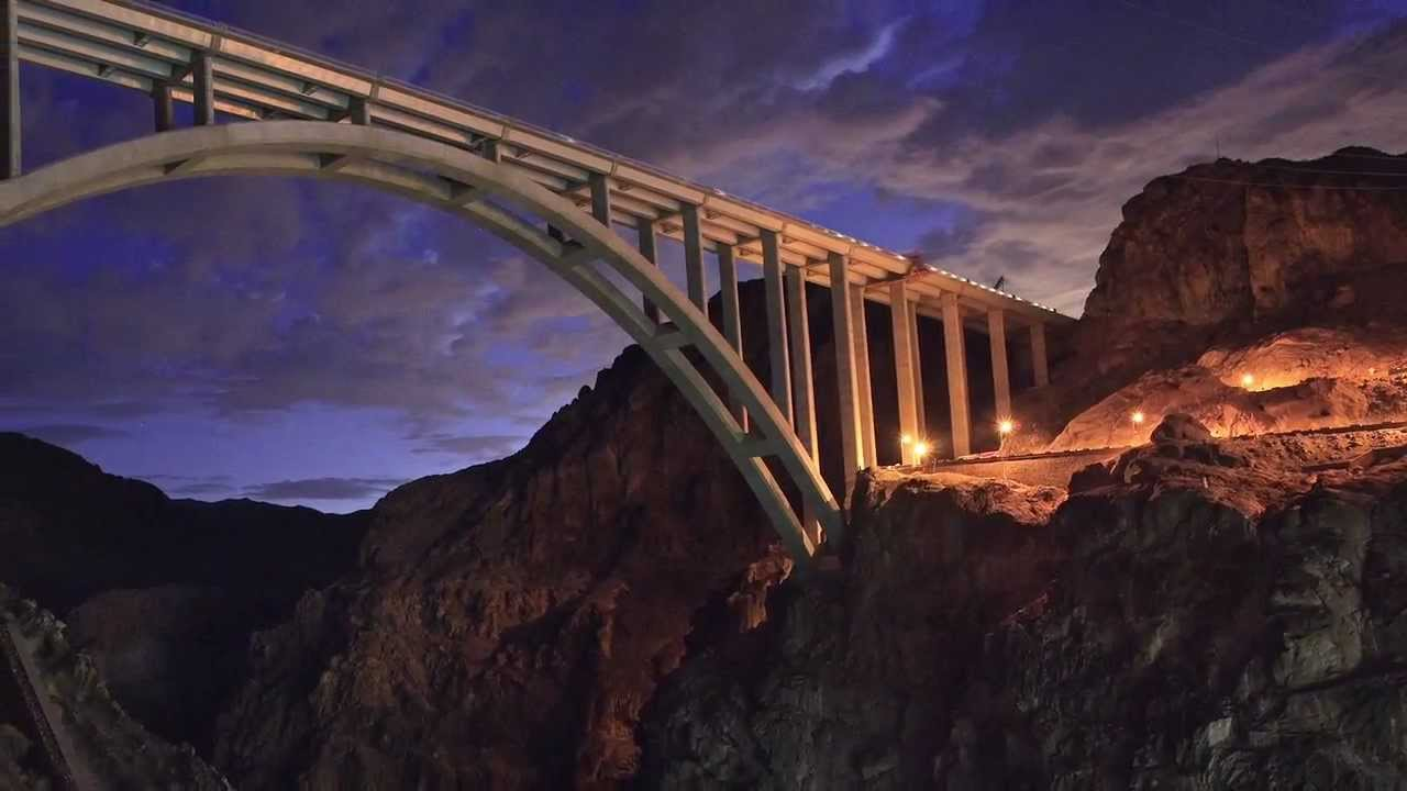The Bridge at Hoover Dam - YouTube Goodyear