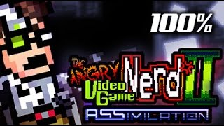 Angry Video Game Nerd II: ASSimilation - 100% full walkthrough F****** IMPOSSIBLE