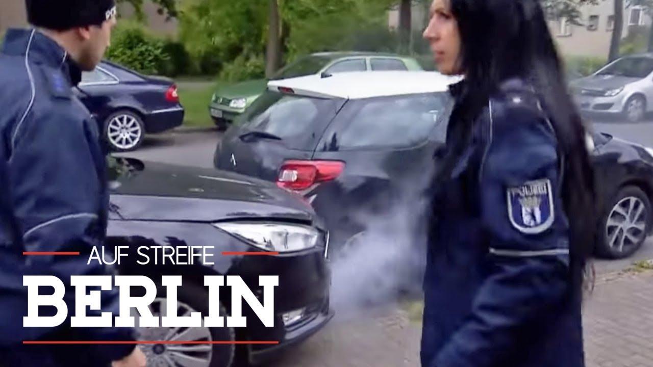 BUM! Da hat's geknallt: Wo ist der zweite Fahrer des Autos? | Auf Streife - Berlin | SAT.1 TV