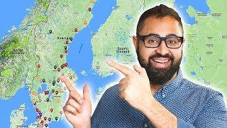 Kebabkartan är färdig - Såhär äter vi Kebab i Sverige
