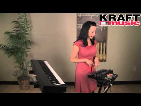 Kraft Music - Boss RC-505 Loop Station Demo with Angela Sheik