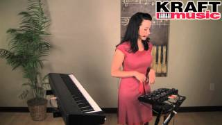 Kraft Music - Boss RC-505 Loop Station Demo with Angela Sheik