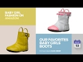 Our Favorites Baby Girls Boots Collection Baby Girl Fashion On Amazon