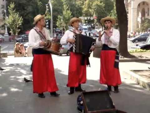 Ukranian folk street band
