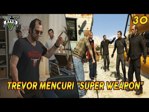 PANDUAN MISI GTA 5 (30) THE MERRYWEATHER HEIST (B. OFFSHORE) 100% COMPLETION / GOLD MEDAL