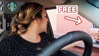 Easy Way To Get FREE STARBUCKS!!