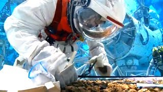 Astronauts Train for Asteroid Capture Mission
