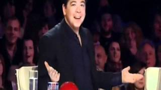 John Hampson on Britain's Got Talent 2011 Week 1