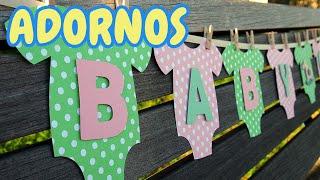 40 Ideas Adornos para Decorar un Baby Shower *Niño* HD