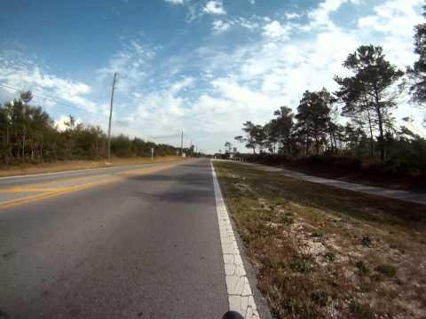 Seaside, Florida Bike ride on 11-04-12 (Part 2)