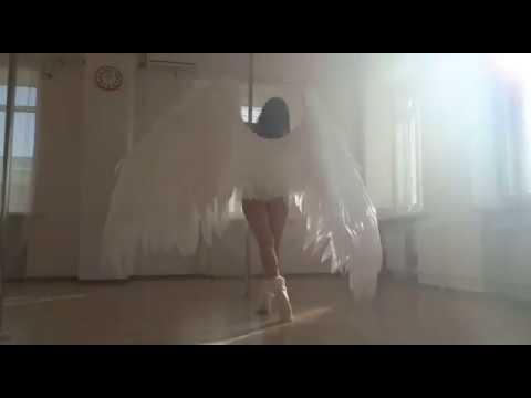 Крылья ангела #ЛисьяМастерская pole danse