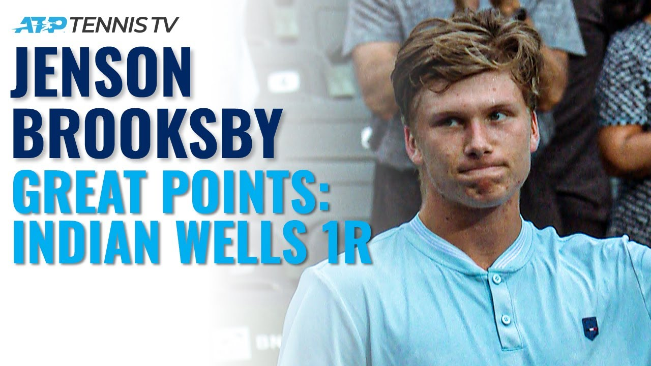 Jenson Brooksby Brilliant Tennis in First Masters 1000 Win! | Indian Wells 2021 Highlights