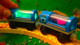 Wooden Railway Reviews - 2013 Aquarium Cars