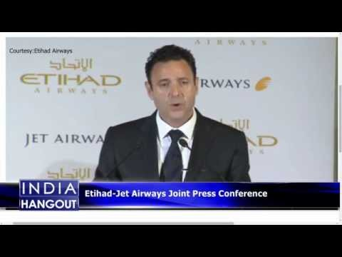 Etihad- Jet Airways Joint Press Conference || Boom Live
