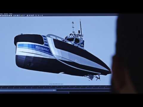 Octosense boat design process augmented reality