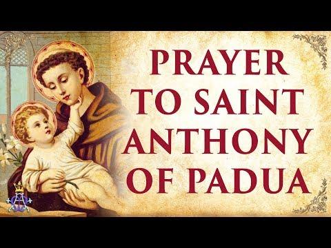🙏 Prayer To Saint Anthony Of Padua - Very Powerful 🙏