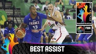 Serbia v France - Best Assist - 2014 FIBA Basketball World Cup