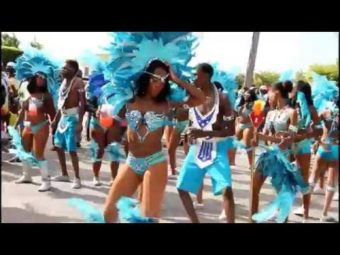 Parade of Troupes for Anguilla Summer Festival 2016