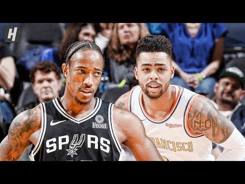 San Antonio Spurs vs Golden State Warriors - Full Highlights | November 1, 2019 | 2019-20 NBA Season
