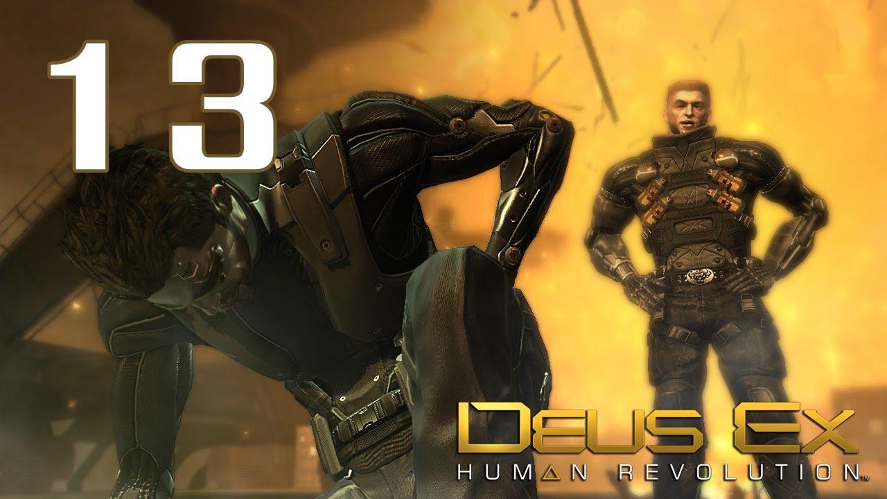 deus ex  human revolution  13 -  u0411 u0430 u0440 u0440 u0435 u0442