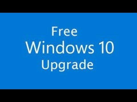 How To Update Windows 7 To Windows 10 In Telugu