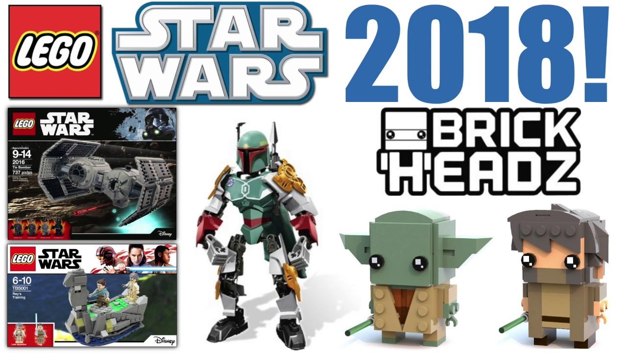 EXCITING LEGO Star Wars 2018 Sets RUMORS! | Star Wars BrickHeadz ...