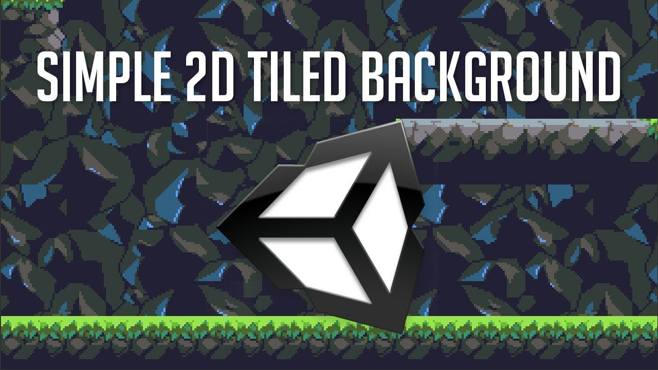 Make a Simple 2D Tiled Background - Unity 2018 Tutorial